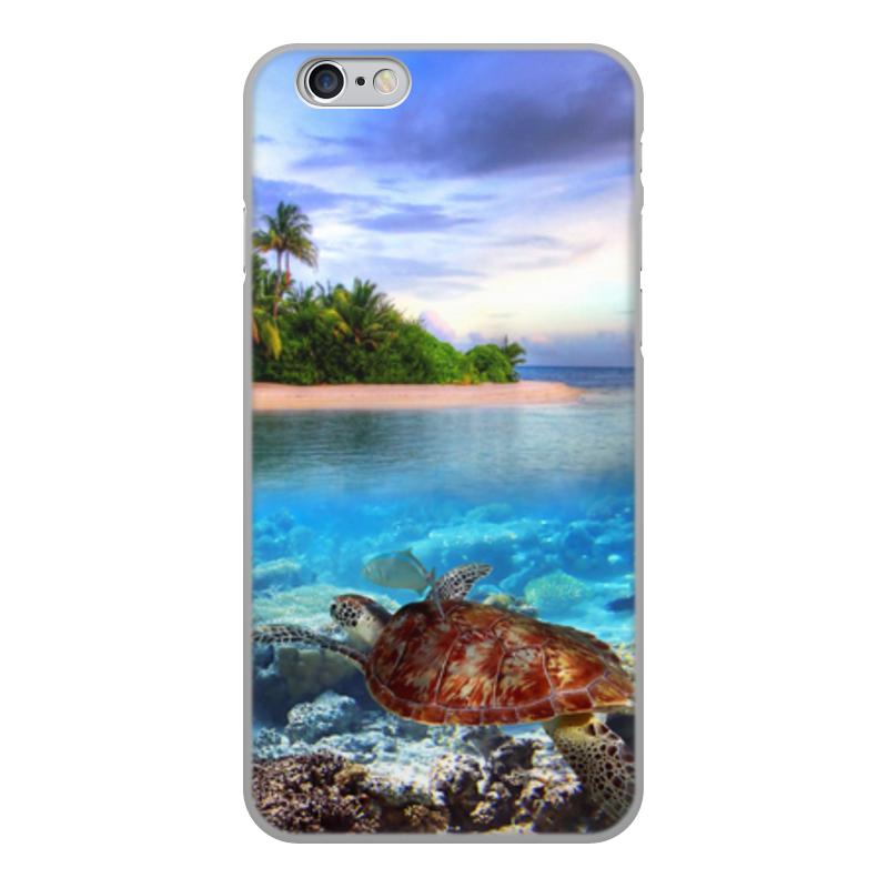 Printio Чехол для iPhone 6, объёмная печать Остров чехол