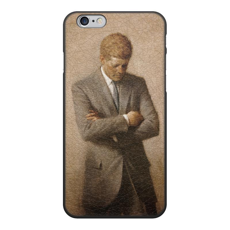 Printio Чехол для iPhone 6, объёмная печать Портрет президента джона ф. кеннеди.