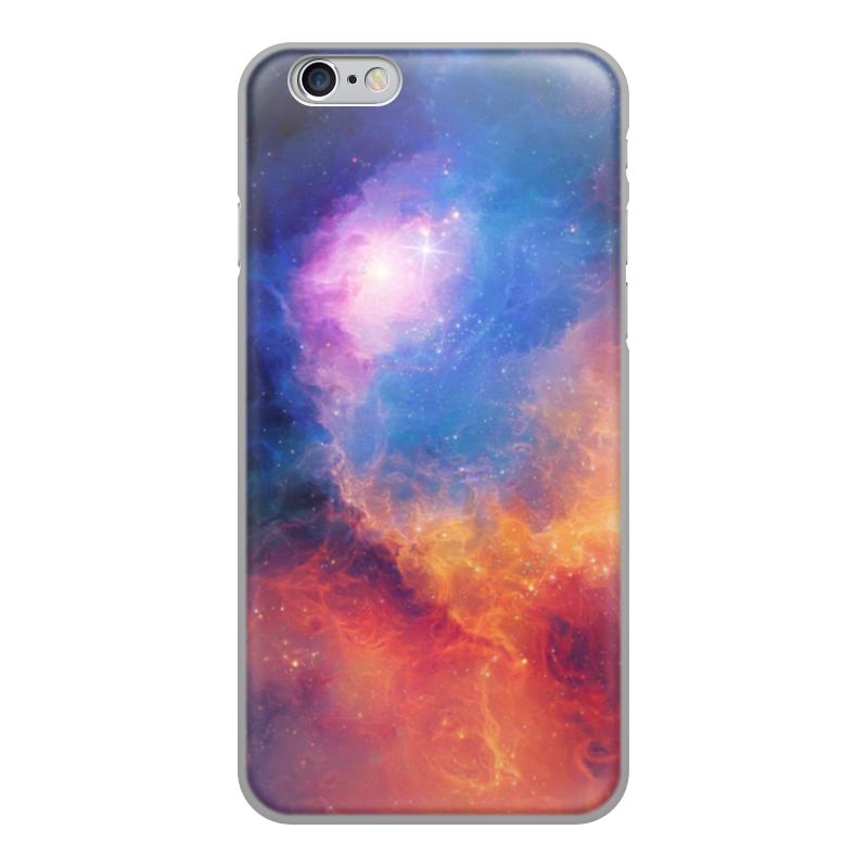 Printio Чехол для iPhone 6, объёмная печать Космос чехол