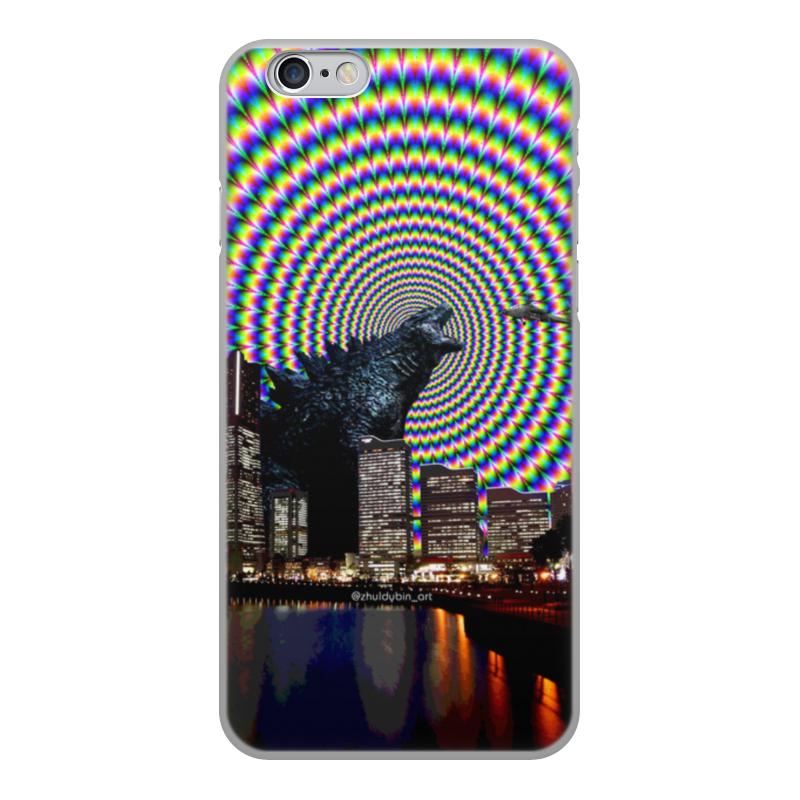 Printio Чехол для iPhone 6, объёмная печать Годзилла printio чехол для iphone 6 объёмная печать unknown