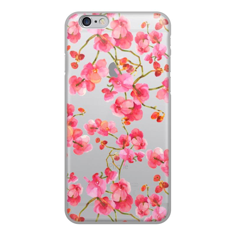 Printio Чехол для iPhone 6, объёмная печать Цветы чехол