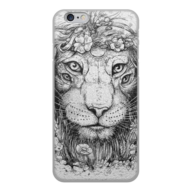 Printio Чехол для iPhone 6, объёмная печать Царь природы