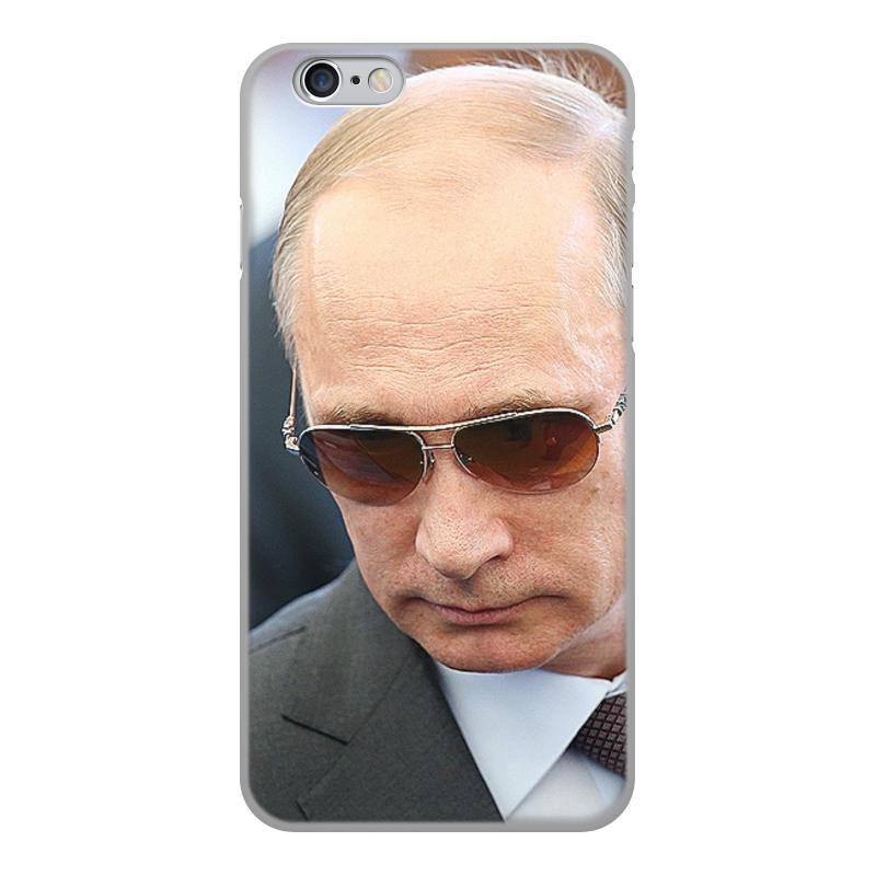 Printio Чехол для iPhone 6, объёмная печать Путин. политика