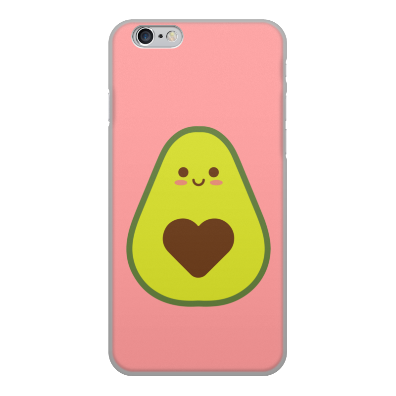 Printio Чехол для iPhone 6, объёмная печать Авокадо авокадик чехол