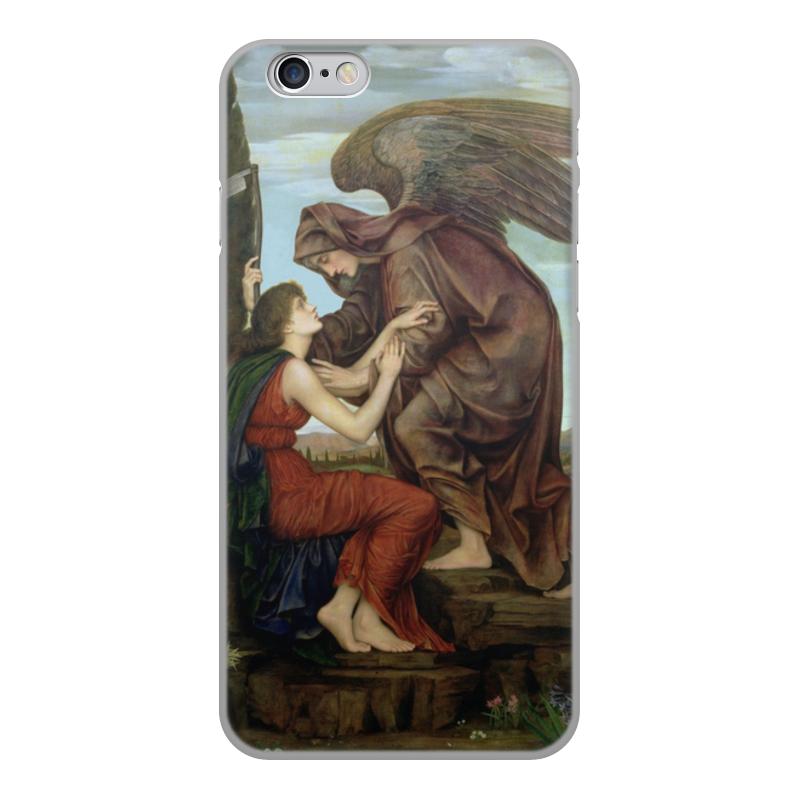 Printio Чехол для iPhone 6, объёмная печать Ангел смерти (эвелин де морган)
