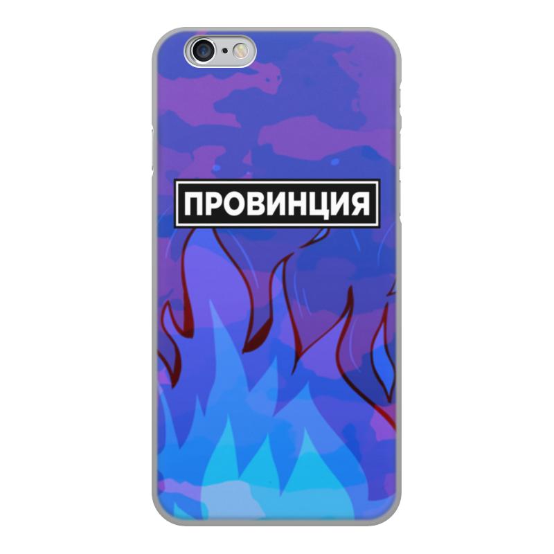 Printio Чехол для iPhone 6, объёмная печать Провинция чехол