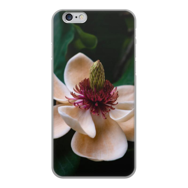 Printio Чехол для iPhone 6, объёмная печать Цветок printio чехол для iphone 6 объёмная печать unknown