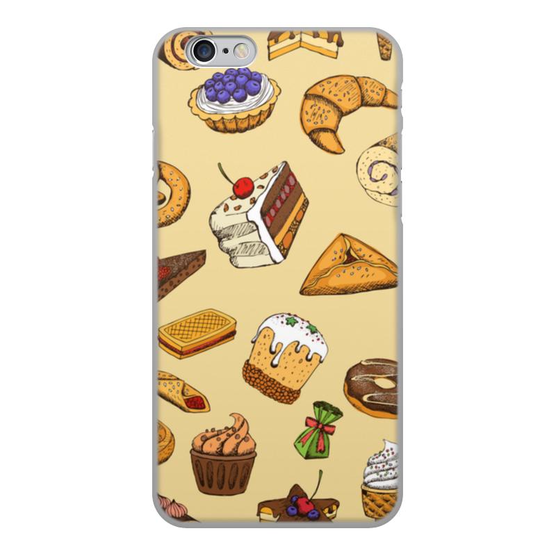 Printio Чехол для iPhone 6, объёмная печать сладости чехол