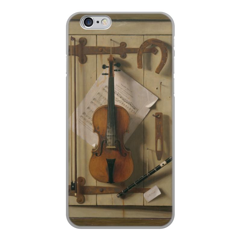 Printio Чехол для iPhone 6, объёмная печать Натюрморт со скрипкой (уильям харнетт)