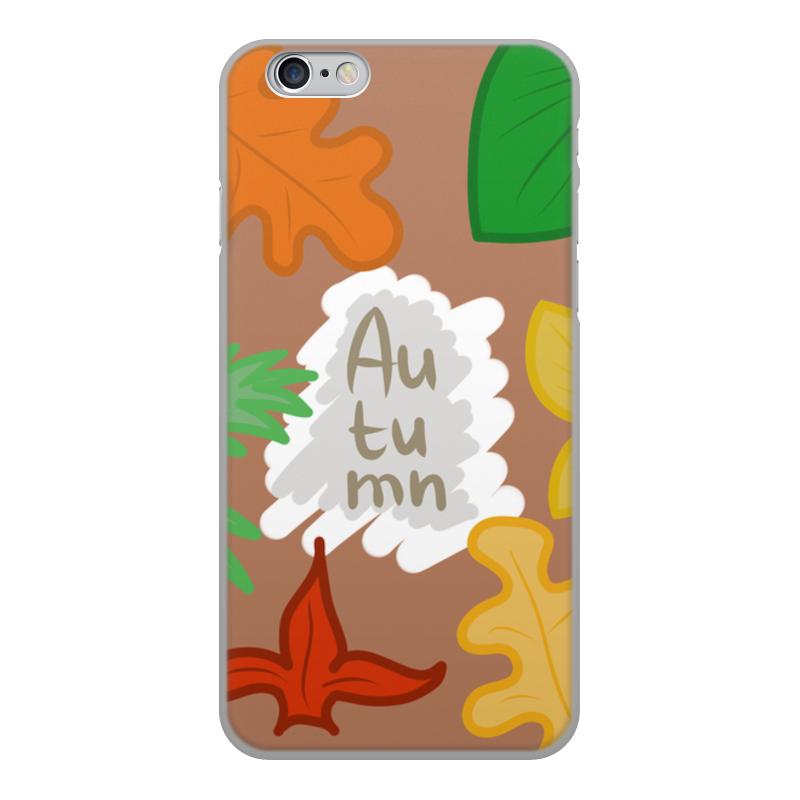 Printio Чехол для iPhone 6, объёмная печать Осень