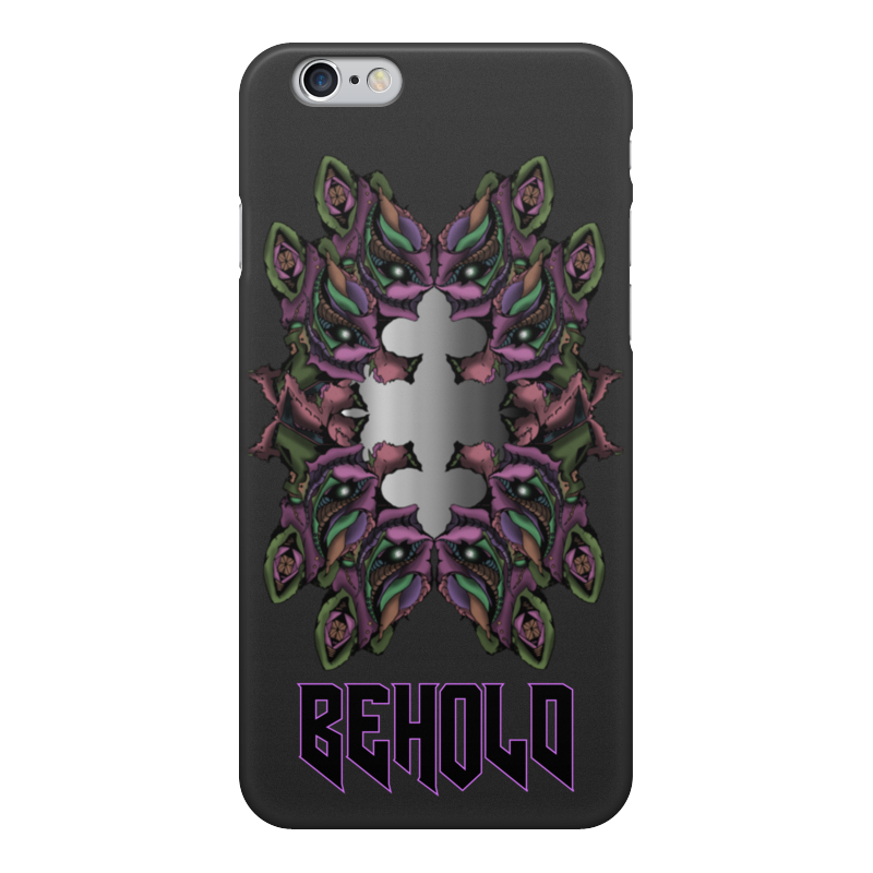 Printio Чехол для iPhone 6, объёмная печать Behold чехол
