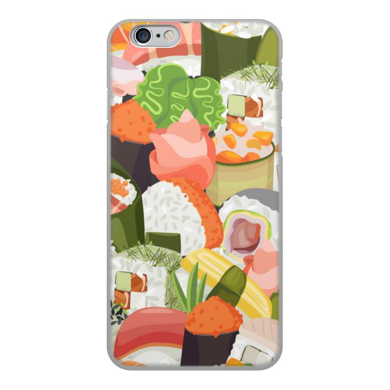 Printio Чехол для iPhone 6, объёмная печать Море суши