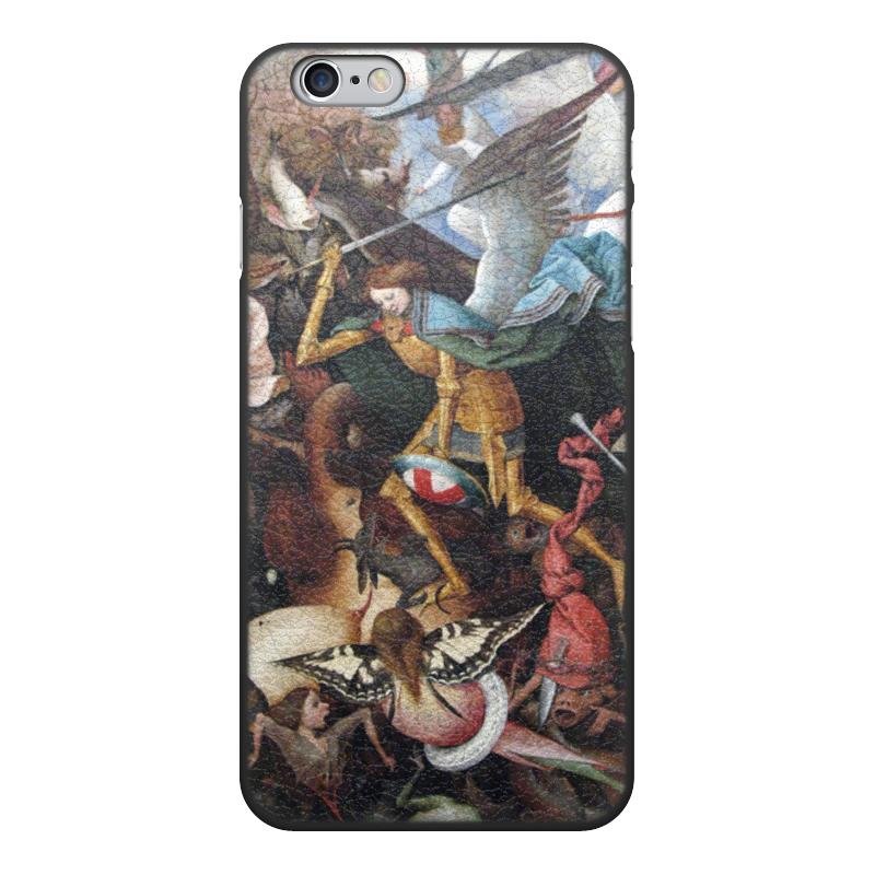 Printio Чехол для iPhone 6, объёмная печать Падение мятежных ангелов (питер брейгель)