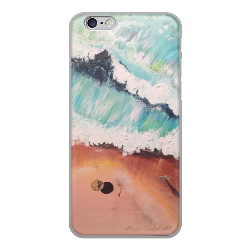 Printio Чехол для iPhone 6, объёмная печать Лазурный берег