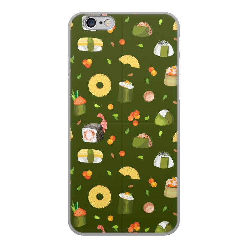 Printio Чехол для iPhone 6, объёмная печать Суши, суши