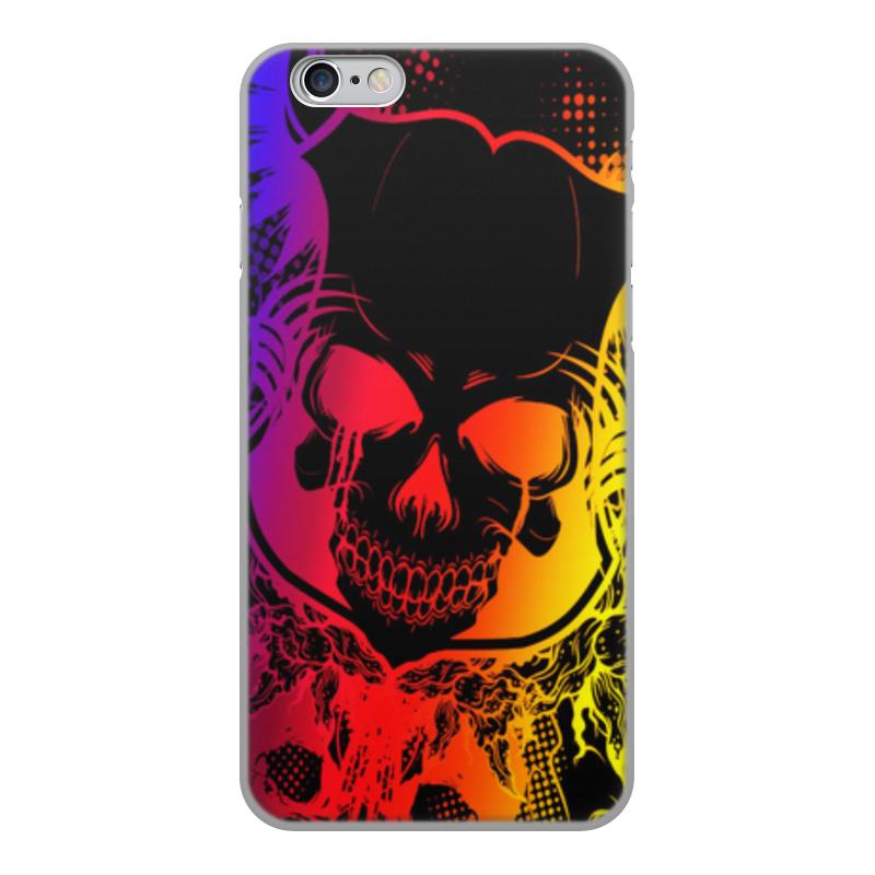 Printio Чехол для iPhone 6, объёмная печать череп