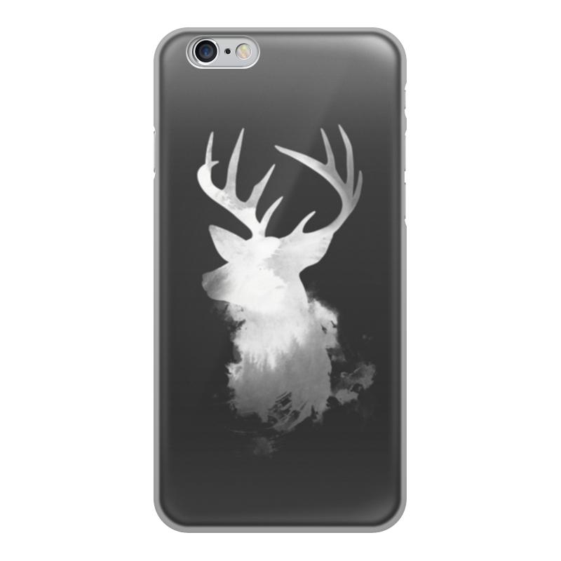 Printio Чехол для iPhone 6, объёмная печать Олень чехол