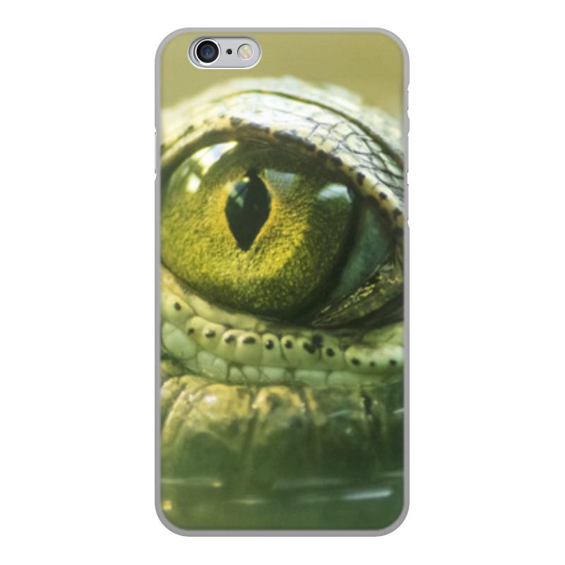 Printio Чехол для iPhone 6, объёмная печать Рептилии