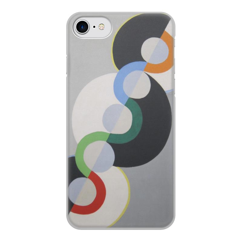 Фото - Printio Чехол для iPhone 7, объёмная печать Бесконечный ритм (робер делоне) printio чехол для iphone x xs объёмная печать бесконечный ритм робер делоне