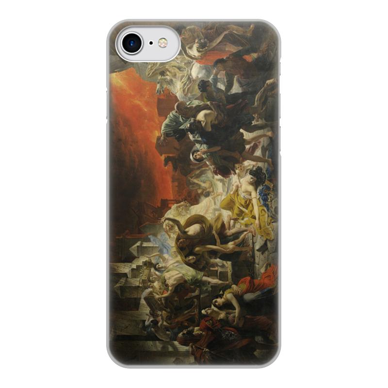 Printio Чехол для iPhone 7, объёмная печать Последний день помпеи (картина брюллова)
