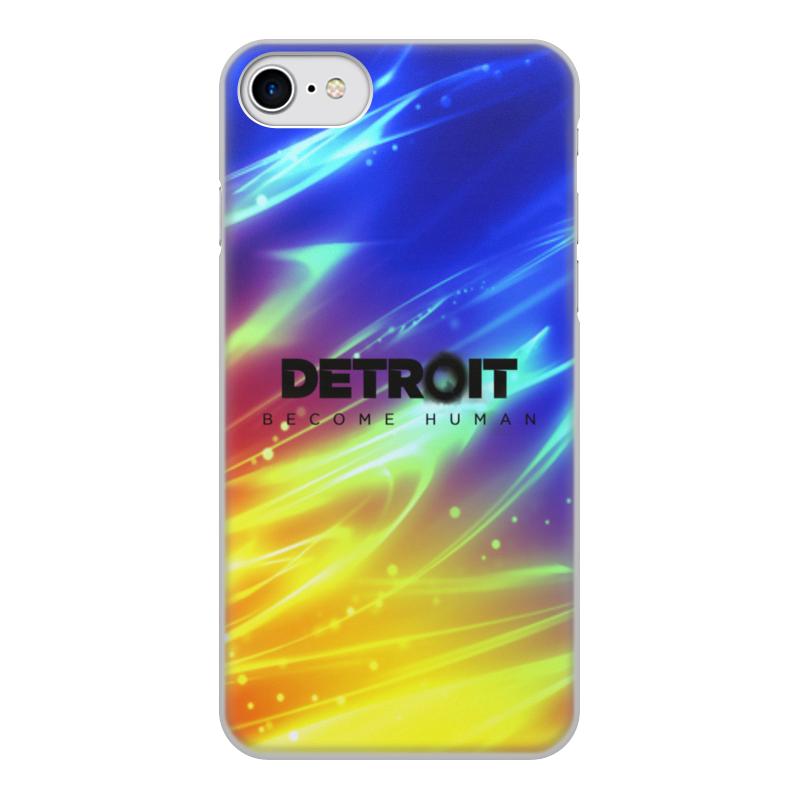 Printio Чехол для iPhone 7, объёмная печать Detroit чехол