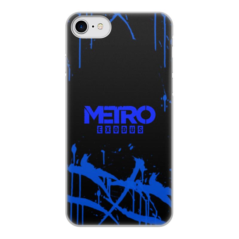 Printio Чехол для iPhone 7, объёмная печать Metro чехол