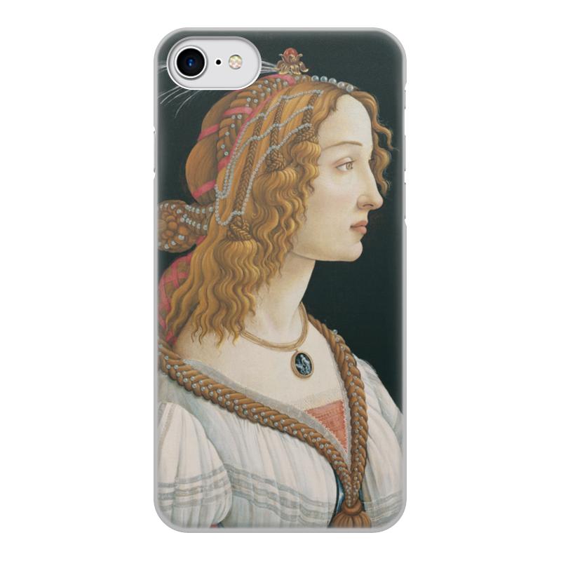 Фото - Printio Чехол для iPhone 7, объёмная печать Портрет молодой женщины (боттичелли) printio чехол для iphone x xs объёмная печать портрет молодой женщины боттичелли