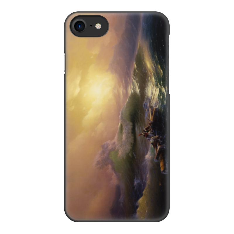 Printio Чехол для iPhone 7, объёмная печать Девятый вал (картина айвазовского)