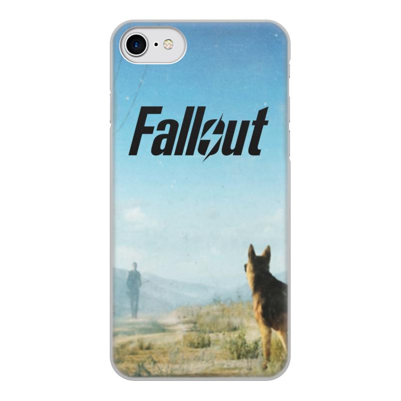 Printio Чехол для iPhone 7, объёмная печать Fallout чехол