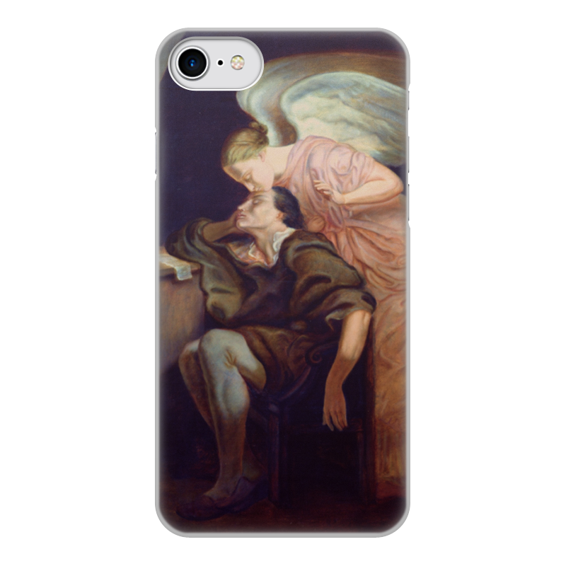 Printio Чехол для iPhone 7, объёмная печать Поцелуй музы (поль сезанн) чехол для iphone 7 глянцевый printio the love of my life