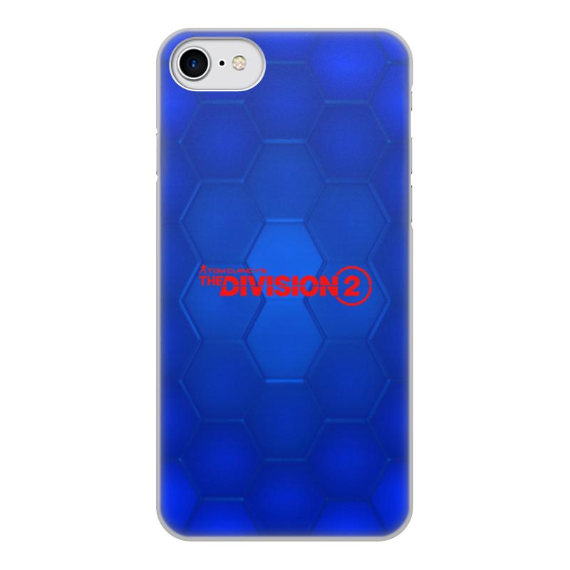 Printio Чехол для iPhone 7, объёмная печать Division 2 чехол