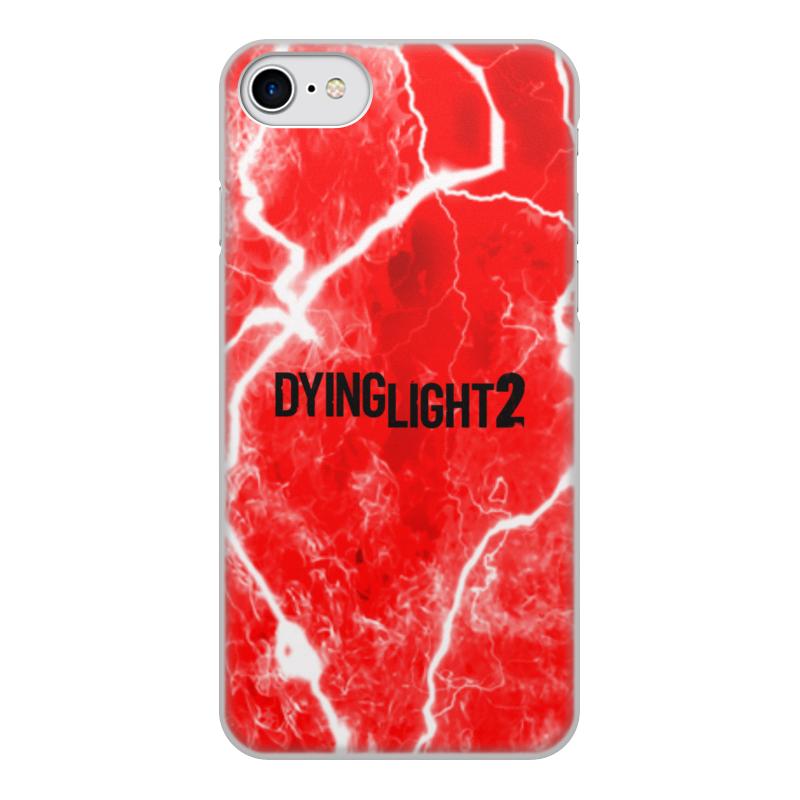 Printio Чехол для iPhone 7, объёмная печать Dying light чехол