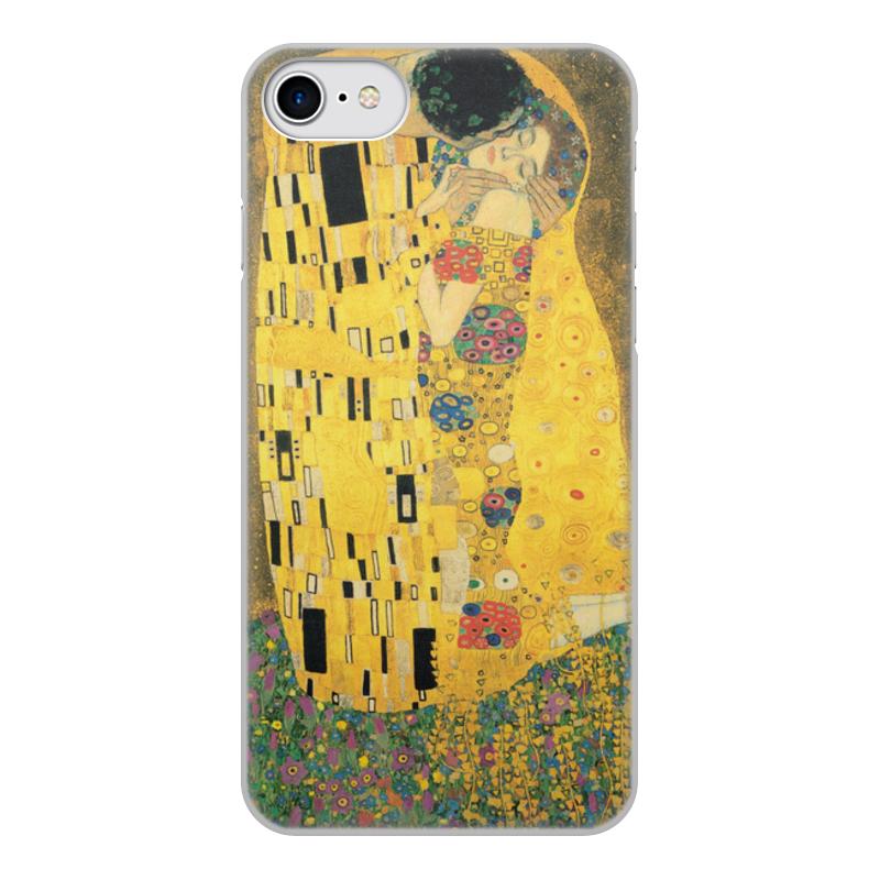 Фото - Printio Чехол для iPhone 7, объёмная печать Поцелуй (картина климта) printio чехол для iphone 7 plus объёмная печать поцелуй картина климта
