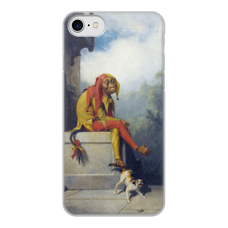 Printio Чехол для iPhone 7, объёмная печать Для чего я был создан? (уильям берд)