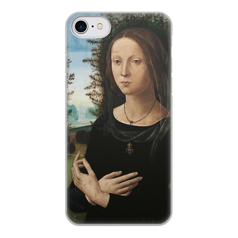Фото - Printio Чехол для iPhone 7, объёмная печать Портрет молодой женщины (лоренцо креди) printio чехол для iphone x xs объёмная печать портрет молодой женщины боттичелли