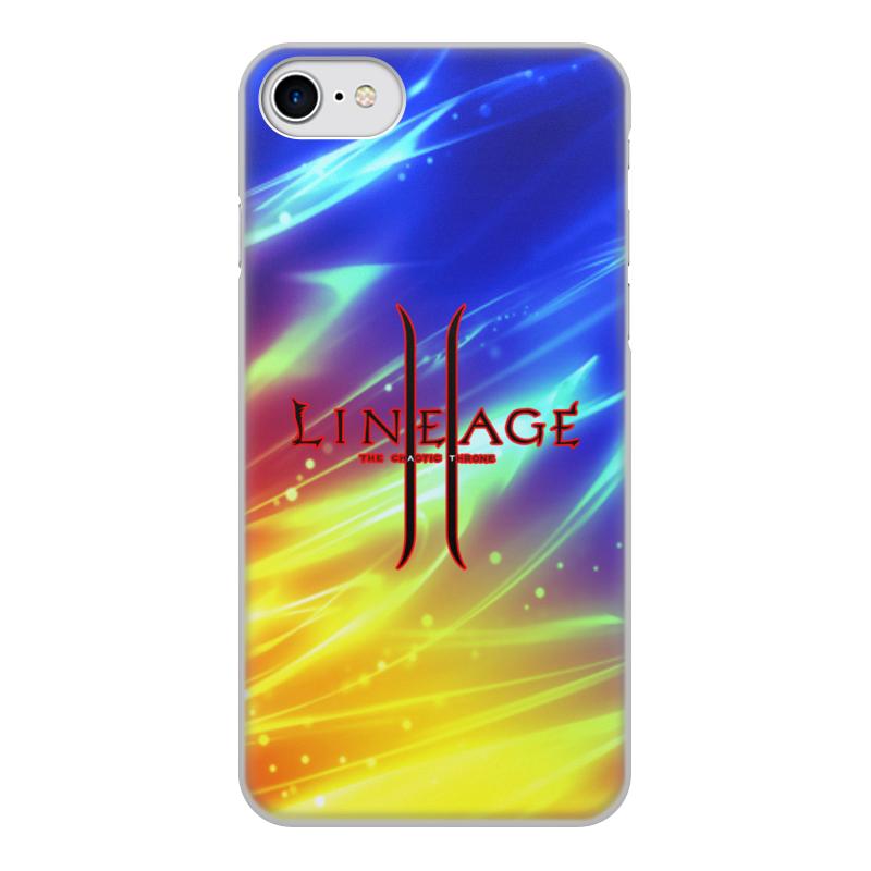 Printio Чехол для iPhone 7, объёмная печать Lineage чехол
