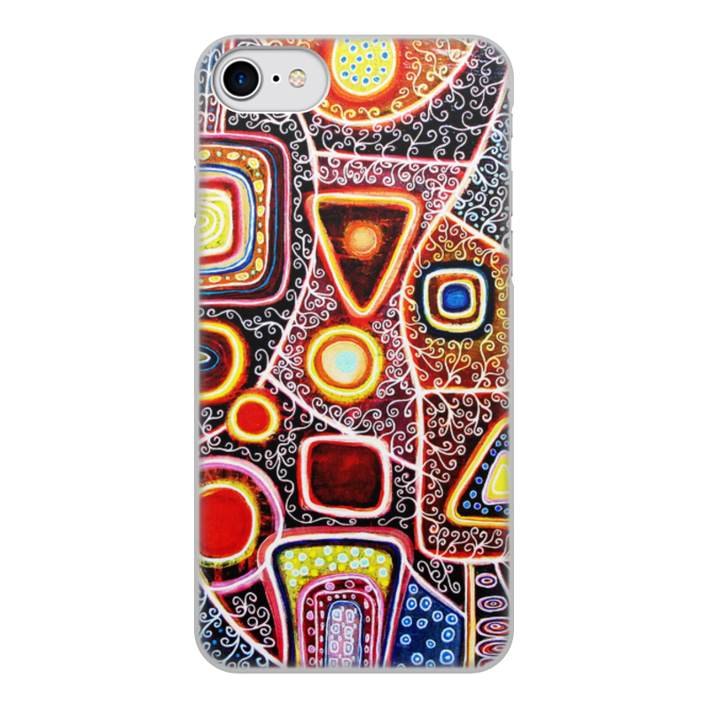 Printio Чехол для iPhone 7, объёмная печать Гравитация