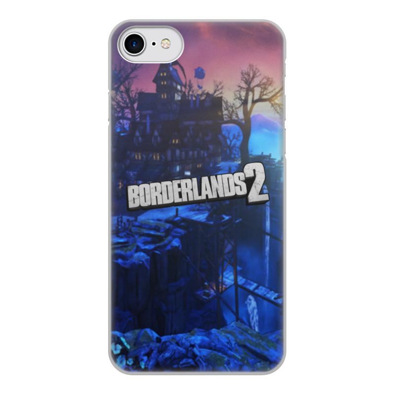 Printio Чехол для iPhone 7, объёмная печать Borderlands 2 чехол