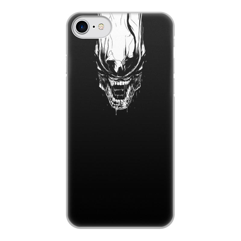 Printio Чехол для iPhone 7, объёмная печать Xenoblack