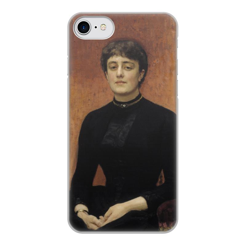 Printio Чехол для iPhone 7, объёмная печать Портрет е. н. званцевой (илья репин) printio значок портрет софьи драгомировой репин