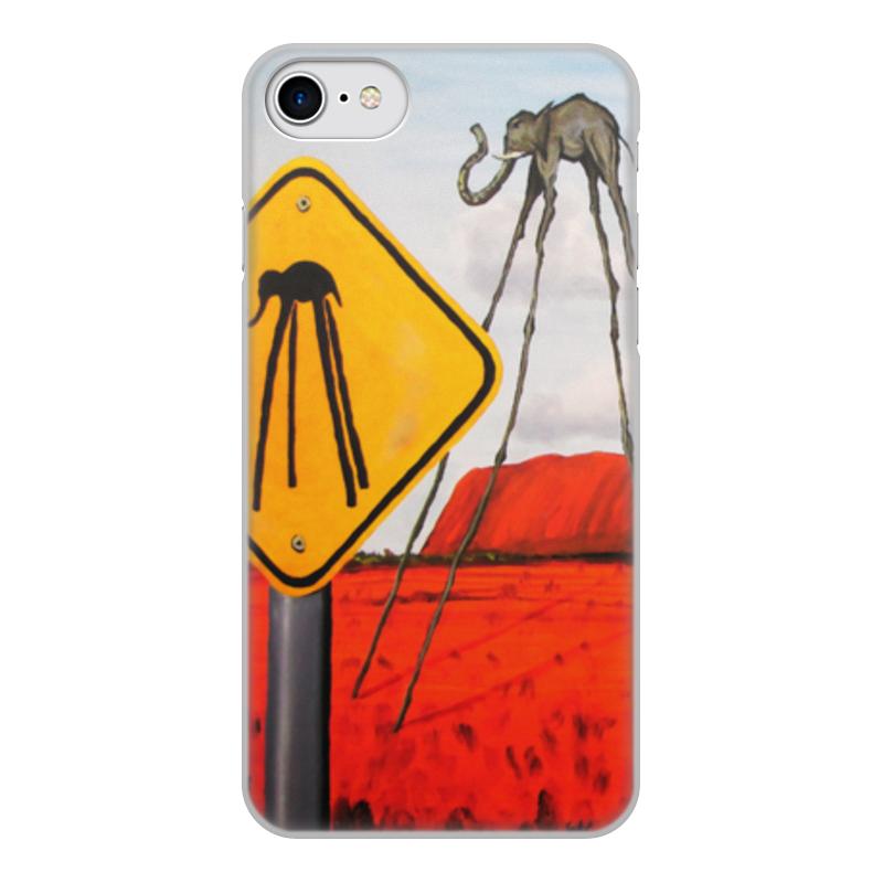 Printio Чехол для iPhone 7, объёмная печать Salvador dali недорого
