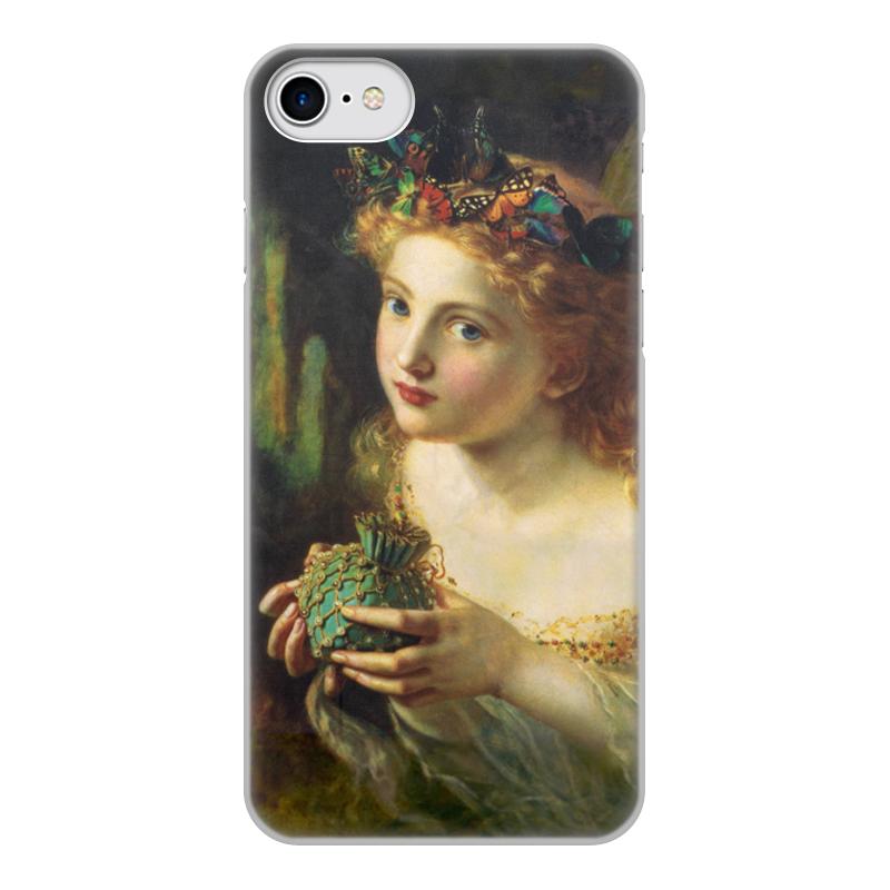 Printio Чехол для iPhone 7, объёмная печать Take the fair face of woman чехол для iphone 7 глянцевый printio the love of my life