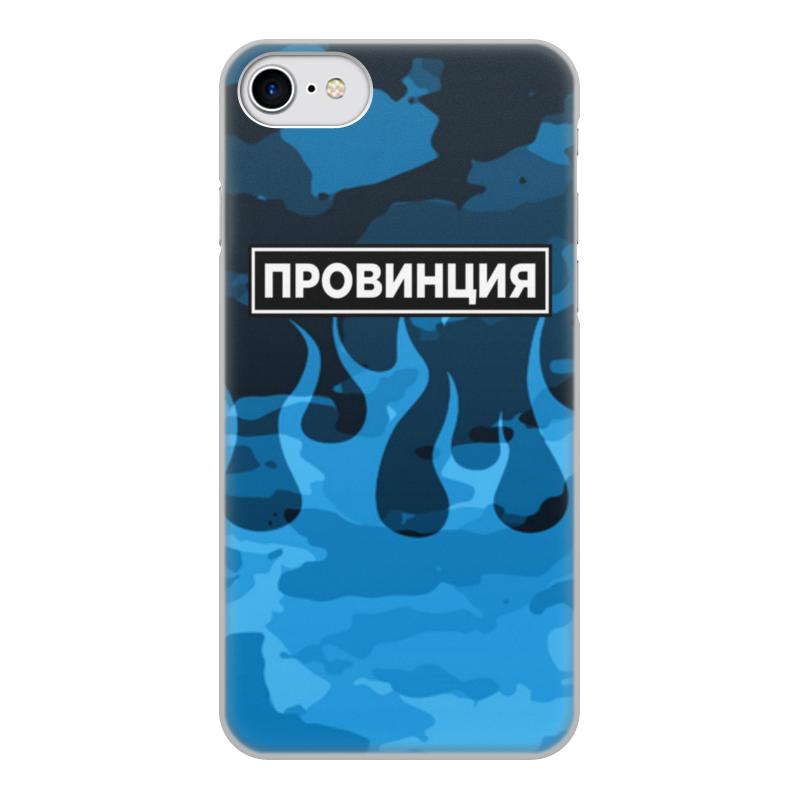 Printio Чехол для iPhone 7, объёмная печать Провинция чехол