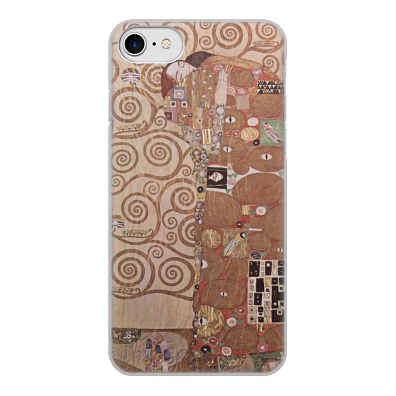 Printio Чехол для iPhone 7, объёмная печать Свершение (густав климт) чехол для iphone 7 глянцевый printio the love of my life