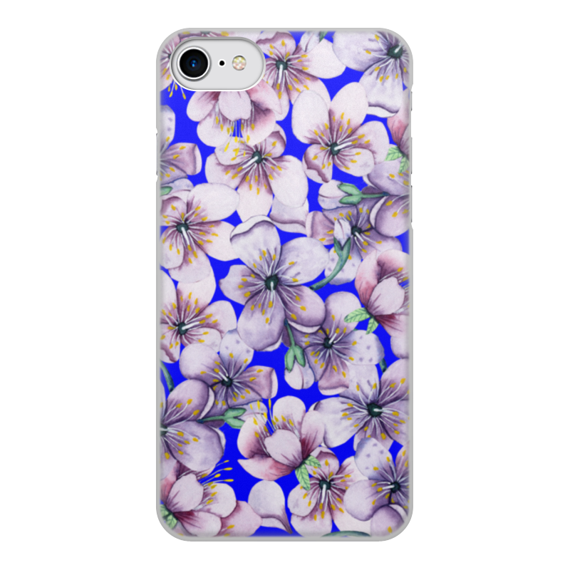 Printio Чехол для iPhone 7, объёмная печать Цветы чехол