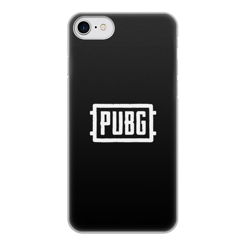 Printio Чехол для iPhone 7, объёмная печать Игра pubg чехол