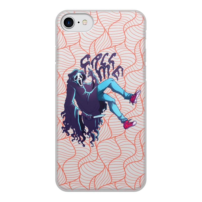 Printio Чехол для iPhone 7, объёмная печать Позвони мне чехол