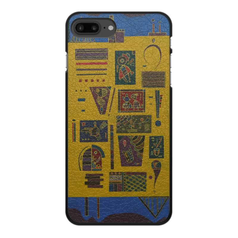 Printio Чехол для iPhone 7 Plus, объёмная печать Конгломерат (василий кандинский) printio чехол для iphone 7 plus объёмная печать тонкое напряжение василий кандинский