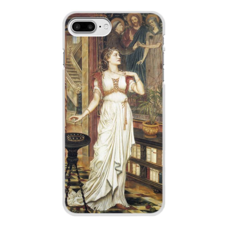 Printio Чехол для iPhone 7 Plus, объёмная печать Корона славы (эвелин де морган)