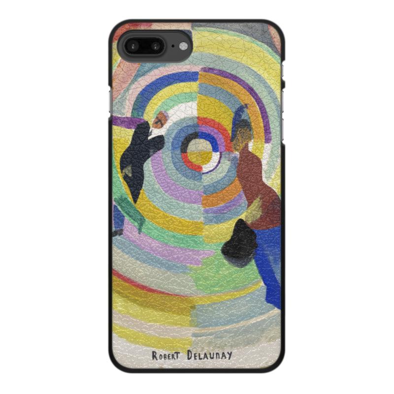 Фото - Printio Чехол для iPhone 7 Plus, объёмная печать Политическая драма (робер делоне) printio чехол для iphone x xs объёмная печать бесконечный ритм робер делоне